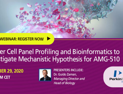 Webinar: Using cancer cell panel profiling and bioinformatics to investigate the mechanistic hypothesis for AMG-510